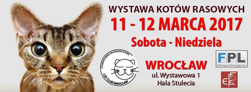 Wystawa Kotów Rasowych we Wrocławiu – ZAPRASZAMY!!!